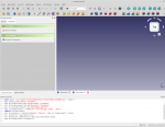 Software Freecad Screenshot, neue Skizze