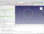 Software Freecad Screenshot, Aufpolstern